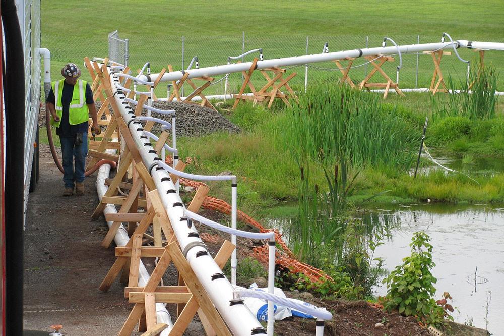 Drainage Basin - Dewatering