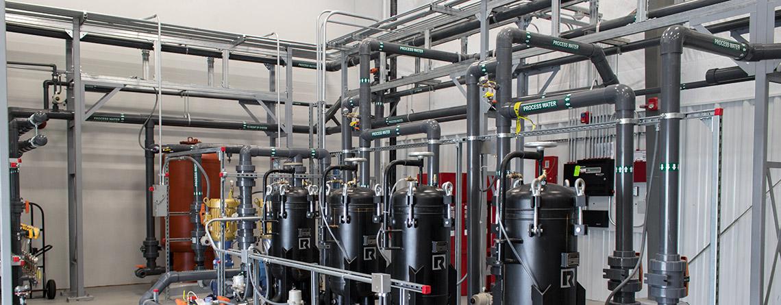 PFOA Treatment System Built by GWTT